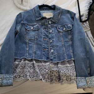 Pilcro and the Letterpress Jean Jacket